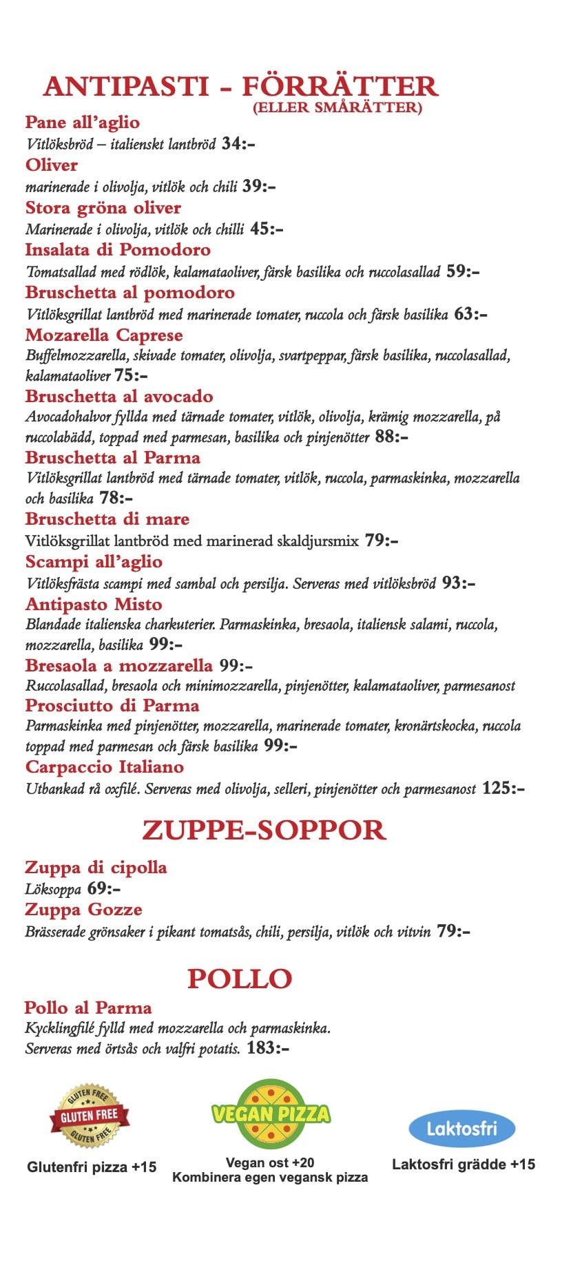 Restaurang Parma hämtmeny sid 4